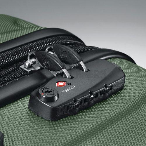 Army Green w// 10pc Accessory Kit Samsonite Omni Hardside Nested Luggage Spinner Set