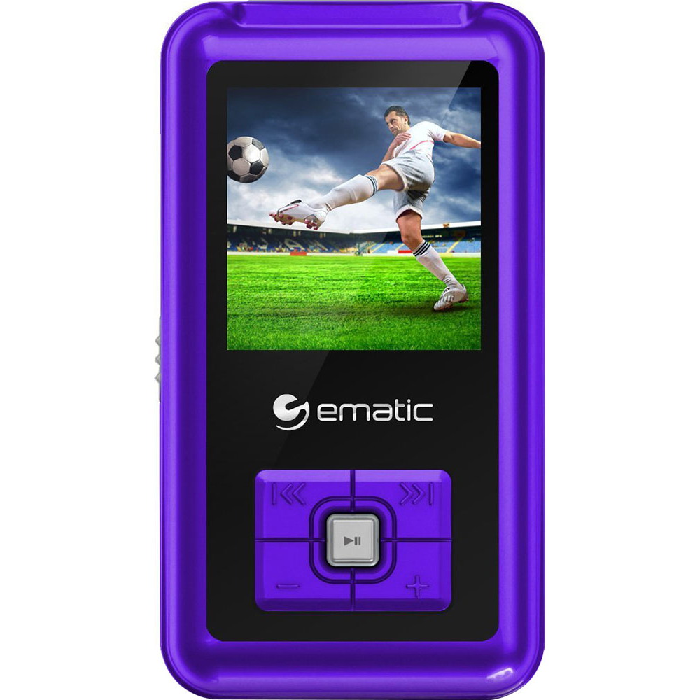 ematic 1 5 inch 8gb mp3 video player in purple with fm tuner rh ebay com Ematic MP3 Player Touch MP3 Players at Walmart Price